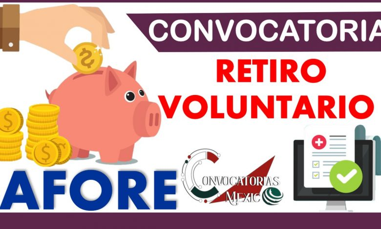 Convocatorias Retiro Voluntario 2021-2022