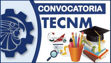 Convocatorias TecNM 2021-2022