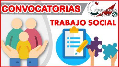 Convocatorias Trabajo social 2021-2022
