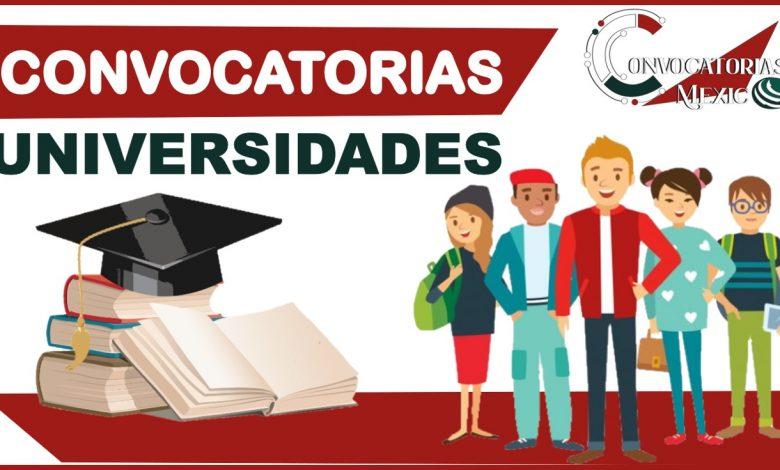 Convocatorias Universidades 2021-2022