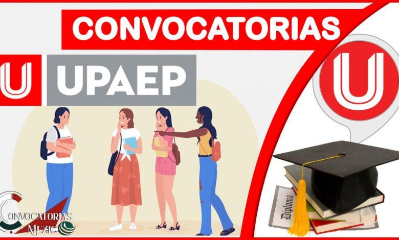 Convocatorias UPAEP 2021-2022