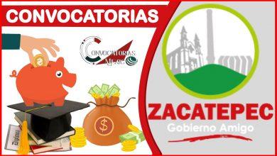 Convocatorias Zacatepec 2021-2022