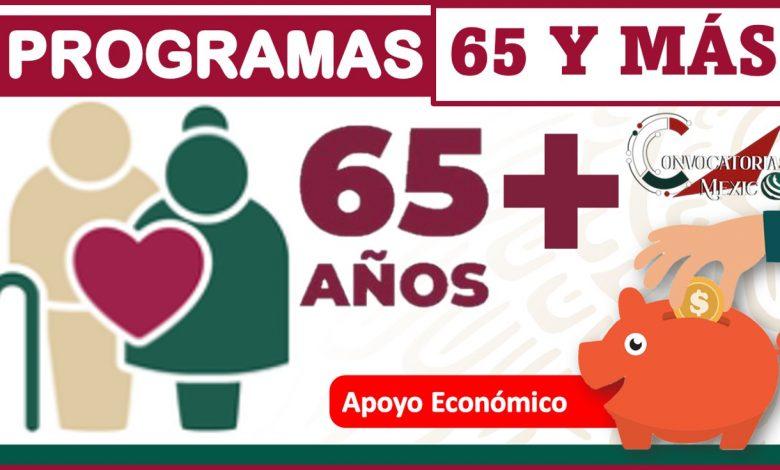 Programas 65 y más 2021-2022
