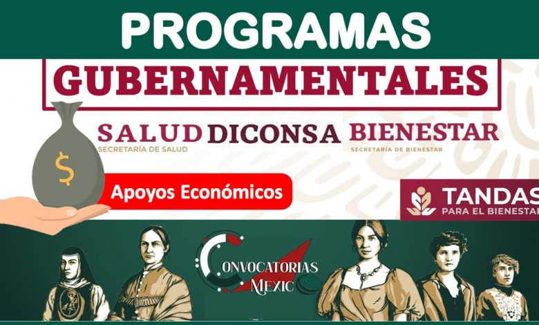 Programas gubernamentales 2021-2022