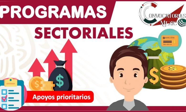 Programas sectoriales 2021-2022