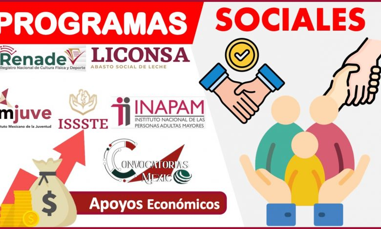 Programas sociales 2021-2022